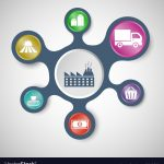 supply-chain-infographic-templates-with-connected-vector-9848528